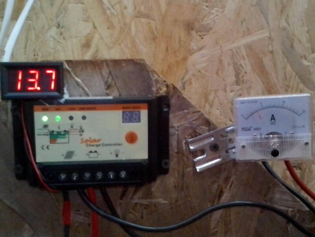 30 амперный контроллер инвертор сколько выдержит ватт
