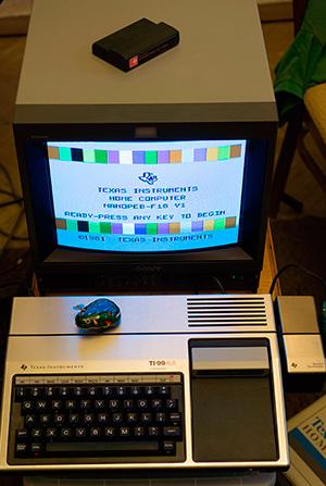 Архитектура и программирование компьютера Texas Instruments TI-99/4a