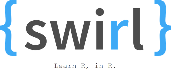 swirl: prompt immersion in R (learning by doing)