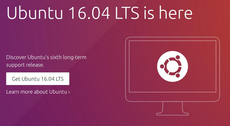 Вышел релиз Ubuntu 16.04 LTS — Snap, OpenStack и другие нововведения. Возможны проблемы с видеокартами AMD