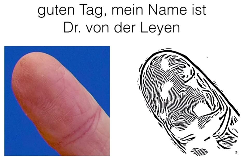 Уязвимость «большого пальца»: я твой палец по фотографии взломаю