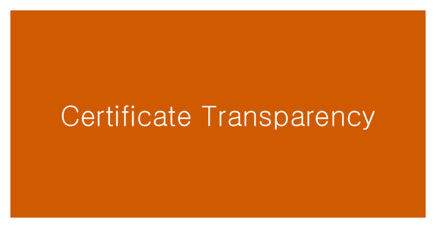 Обзор Certificate Transparency