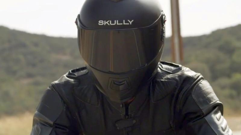 «Умный» мотоциклетный шлем Skully AR-1: самый успешный проект на Indiegogo за все время