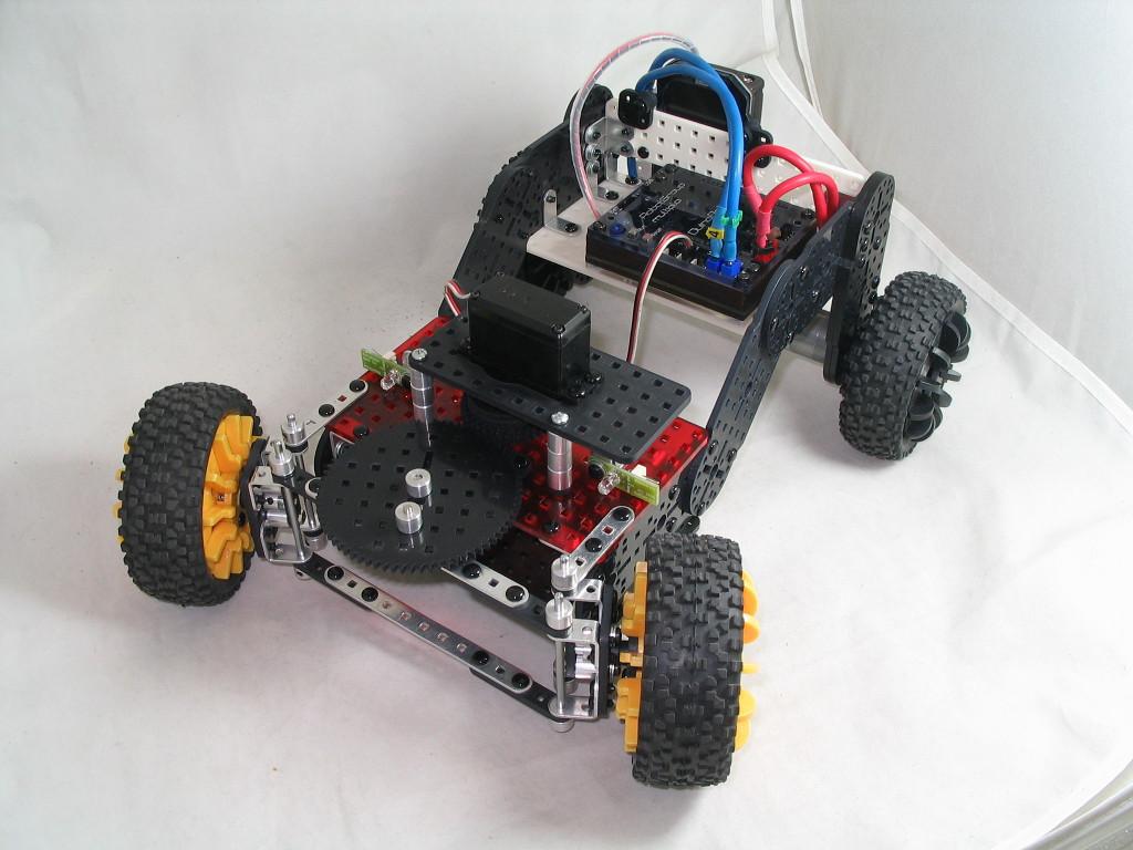 Конструктор Multiplo — создай своего робота