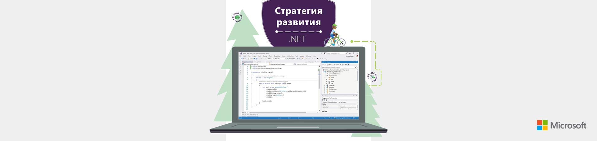 Стратегия развития языков программирования .NET