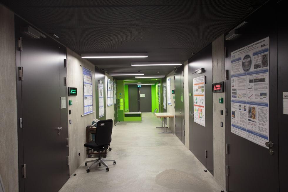 Самые тихие помещения в мире: лаборатории IBM в Цюрихе
