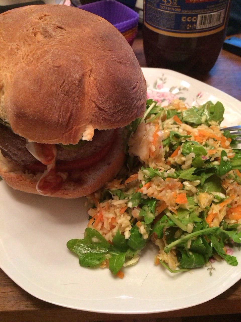 handmade hamburger-2