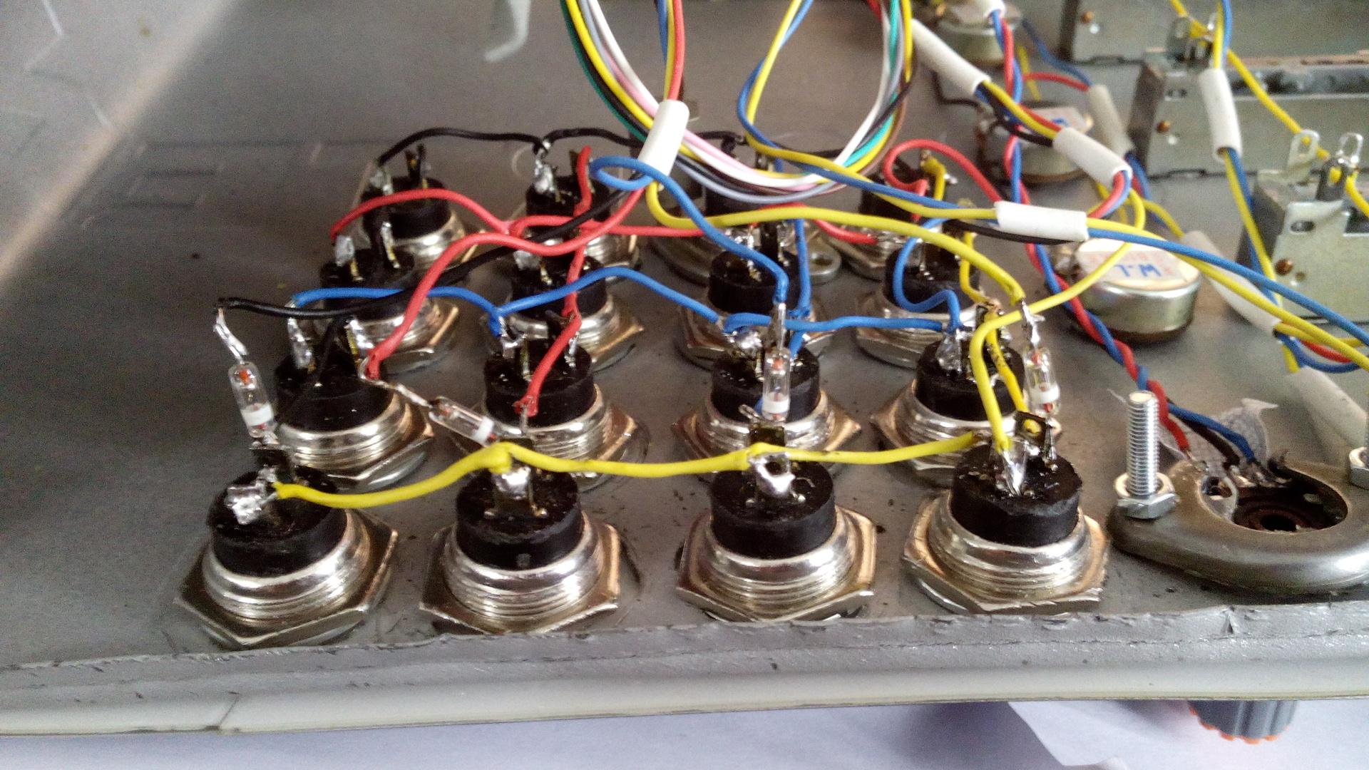 миди кабель электрическая схема