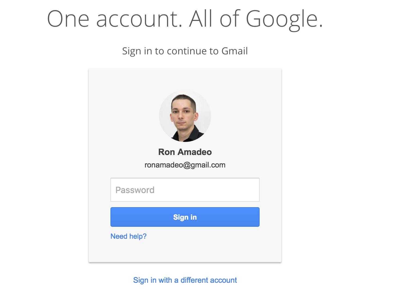 sign google