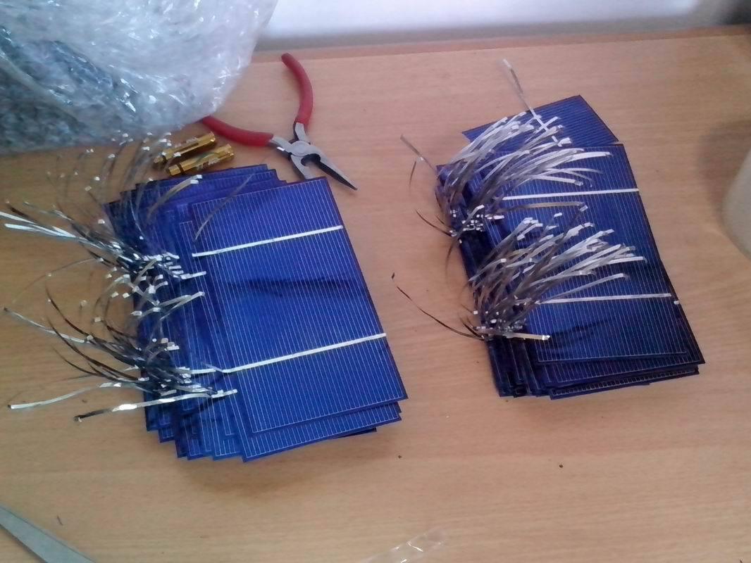 схема солнечной батареи на транзисторах