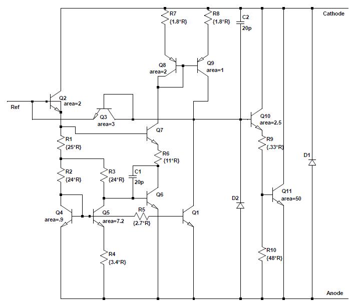 Реверс-инжиниринг TL431