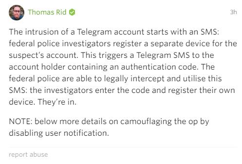 На Telegram обнаружена очередная успешная атака / Блог компании ESET