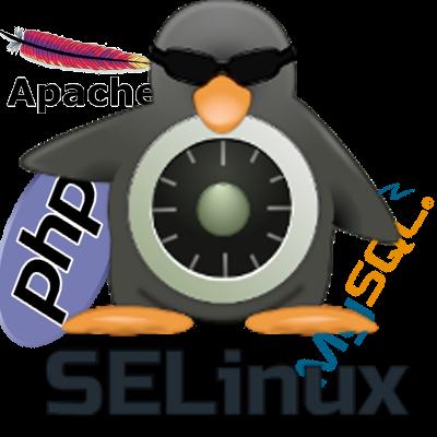 Настройка окружения SELinux для на примере LAMP-сервера