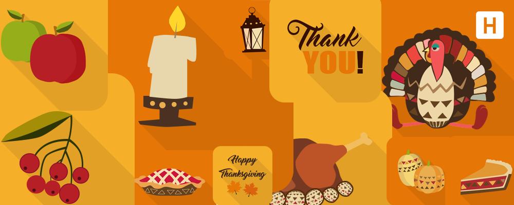 Freebie: Набор иконок на День Благодарения