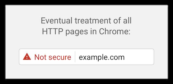 88198ad4c10 Обещания Google начали сбываться — теперь сайты https помечаются как ...