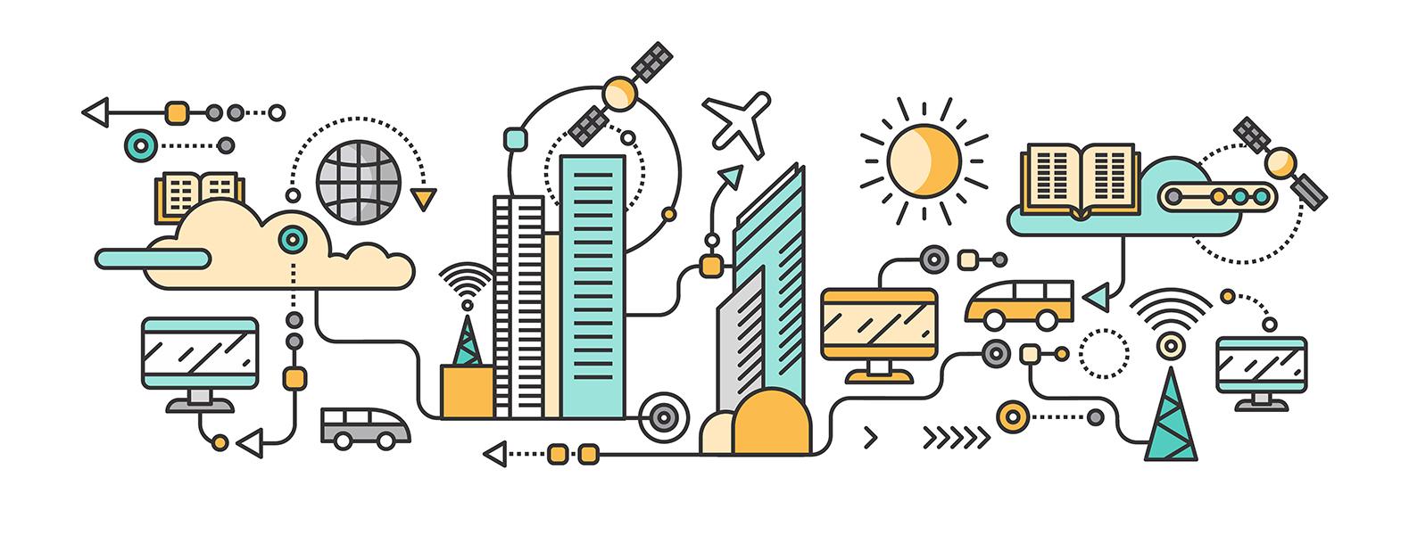 умные города картинки для презентации новиков его