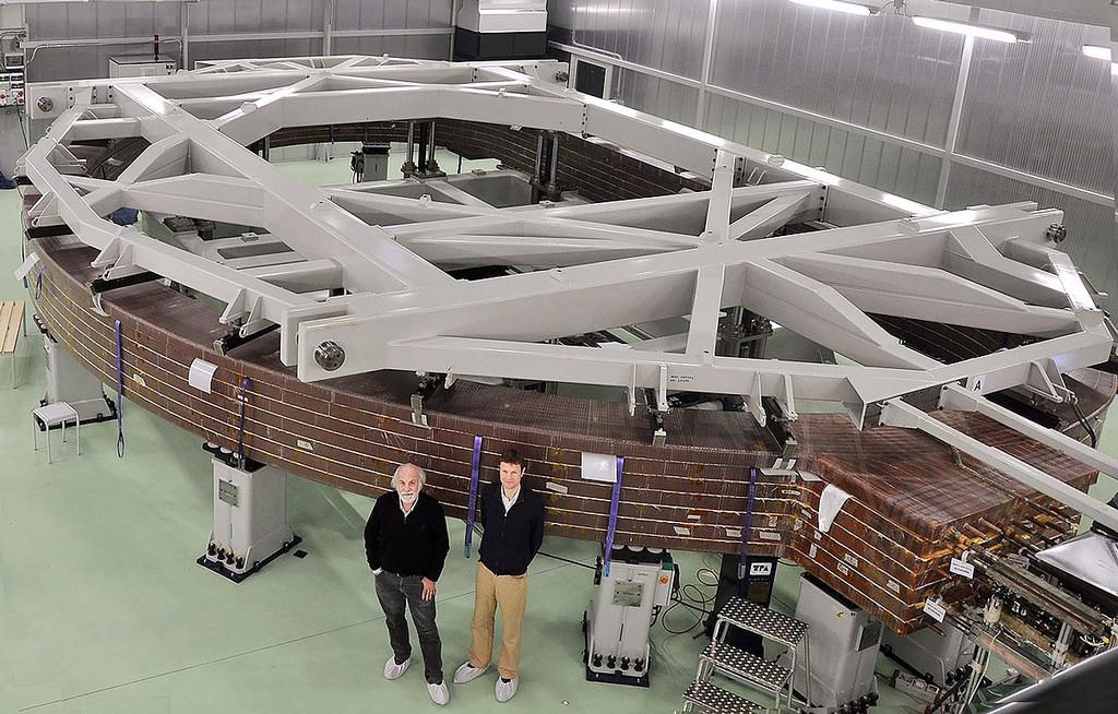 Изготовлен первый пакет обмотки для тороидальной катушки сверхпроводящего магнита ITER