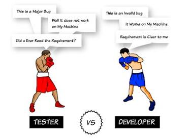 Тестировщик vs разработчик