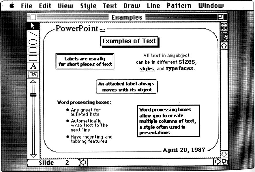 История PowerPoint. Как стартап изменил формат презентации