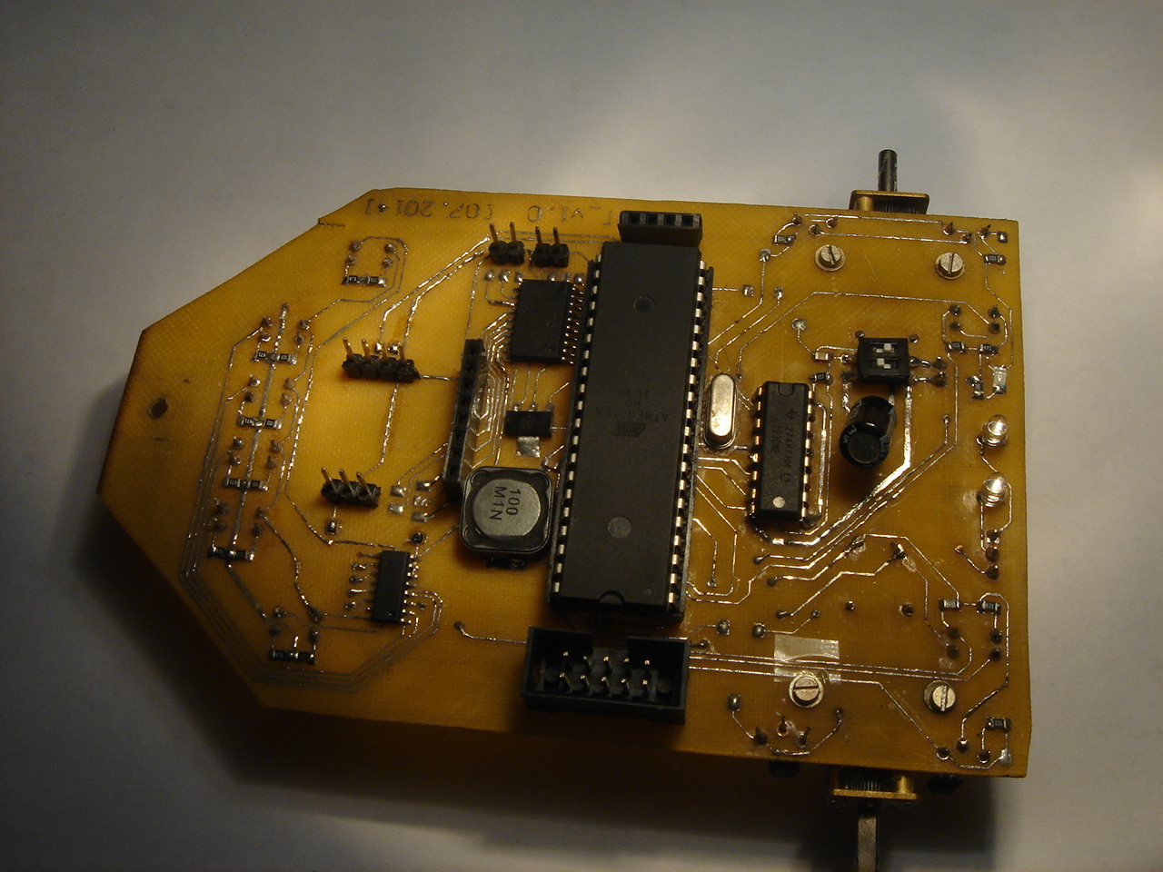 History Of Creation One More Robot Part Second Its Alive Circuit Board Last Has Ended What Before Us Ready Distributing The Printed Flaunted So It Is Time To Create And Transfer Our Idea From