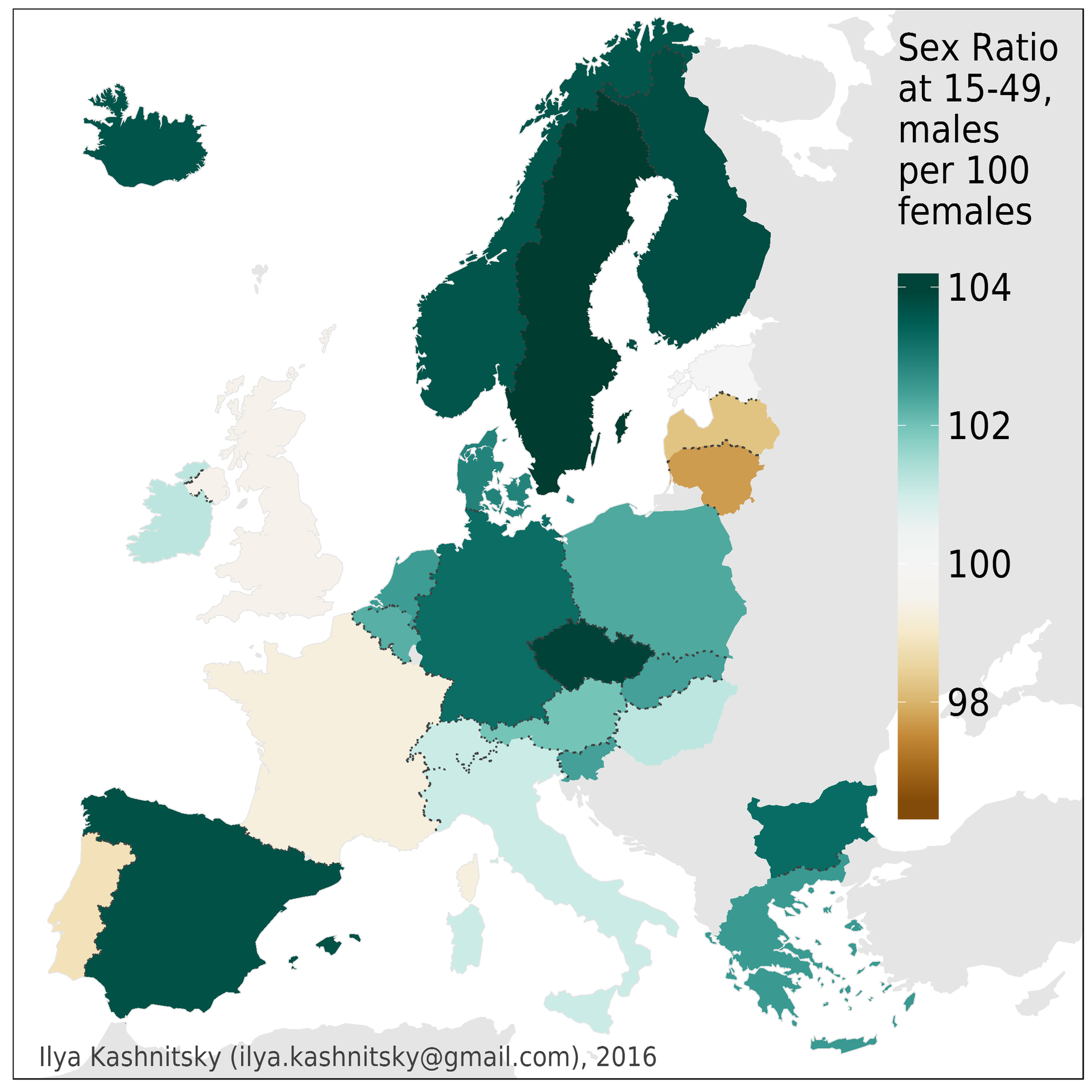 sex ratio pattern in the world Gender inequality and the sex ratio in the ratio is amongst the lowest in the world: unusual sex ratio patterns.