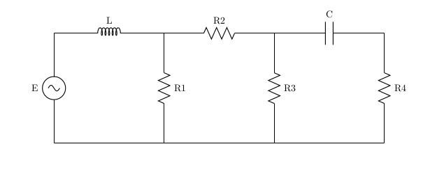 Моделирование электрической цепи