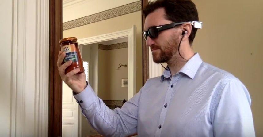 Компьютерное зрение для слепых людей. Применение Intel Edison