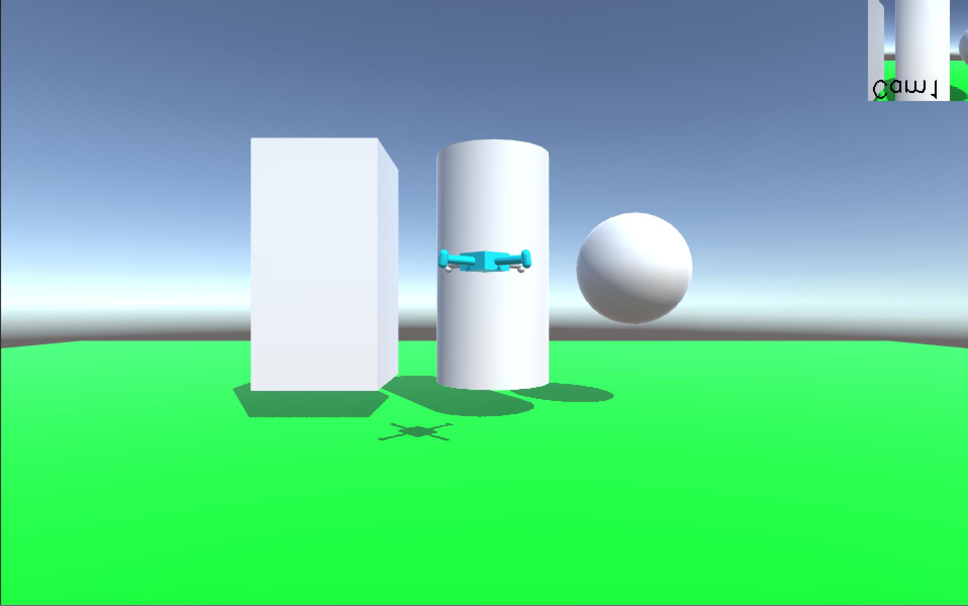 Виртуальный квадрокоптер на Unity + OpenCV (Часть 2)