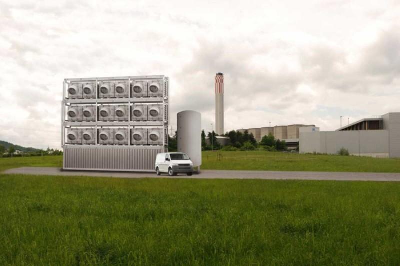 В Швейцарии запустят первый в мире завод по добыче CO₂ из атмосферы