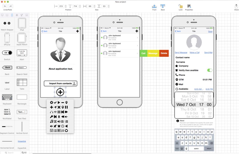 В копилку инструментов для прототипирования: Make My App