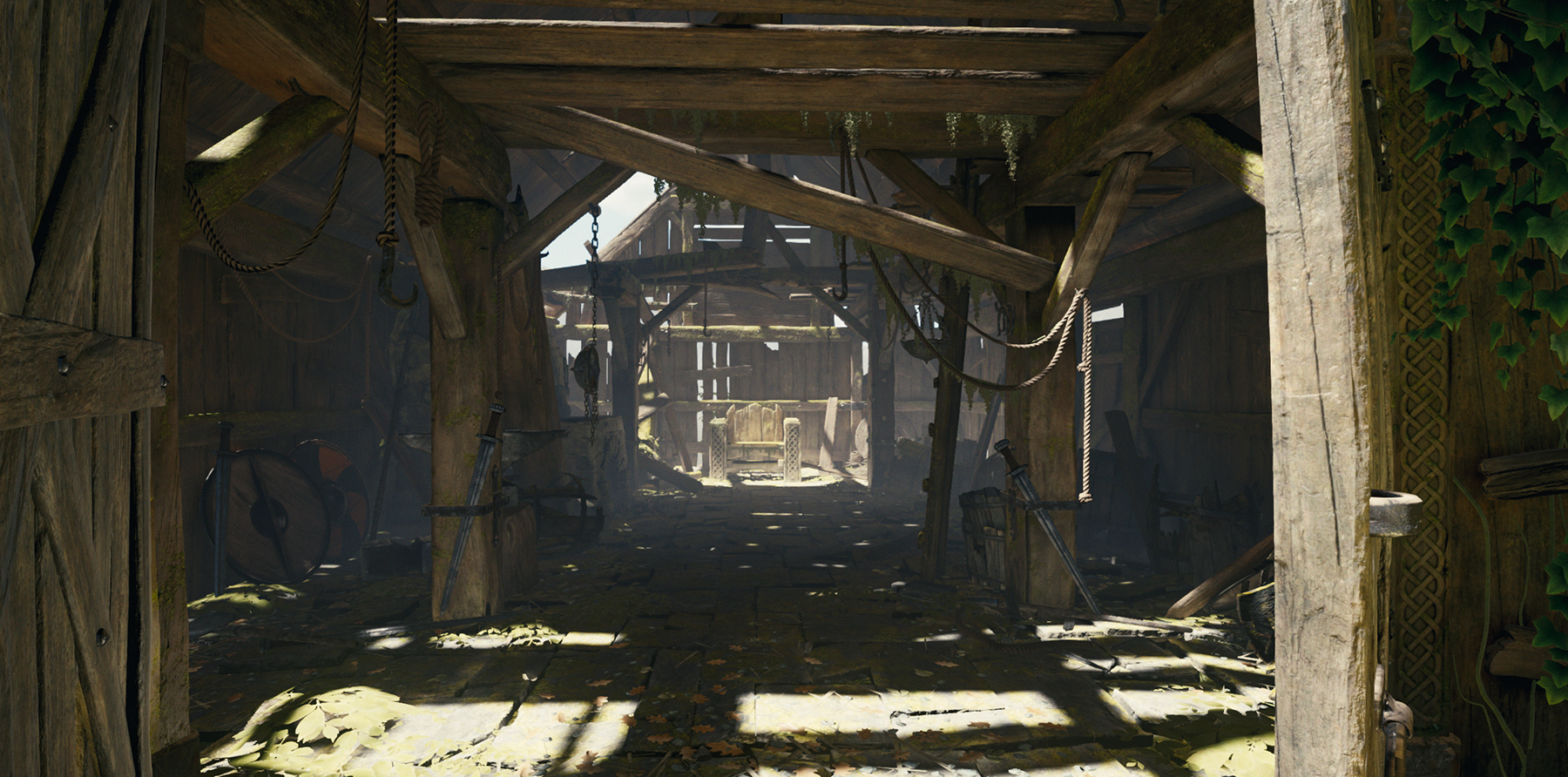 The Blacksmith demo project from Unity