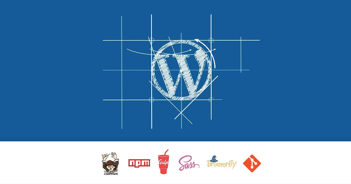 Волшебная сборка проекта на WordPress при помощи пакетных менеджеров и напильника