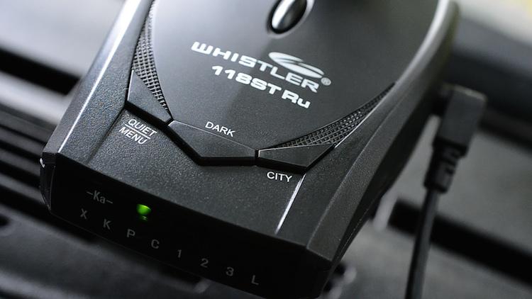 Радар-детектор Whistler 118ST Ru: протестировано на дорогах