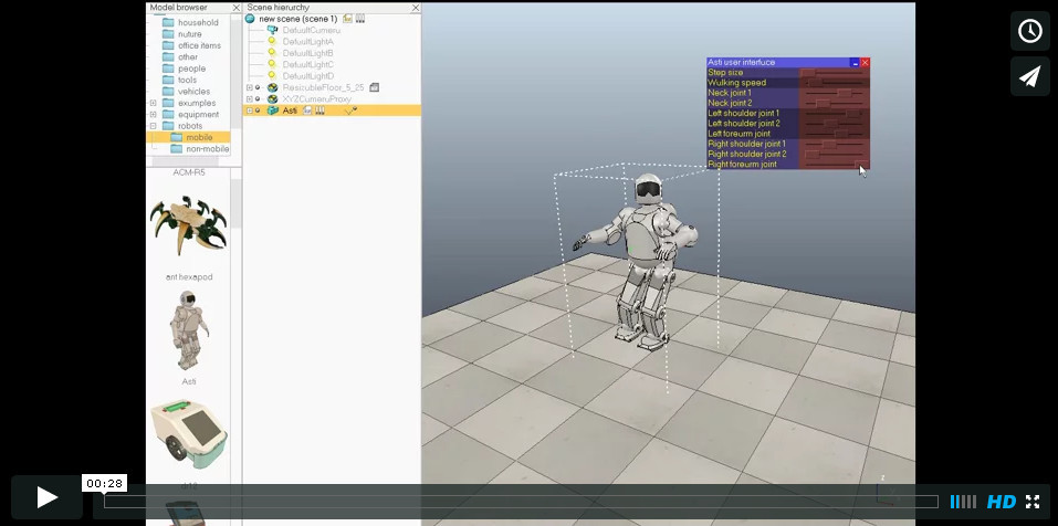 Скачать симулятор робота на компьютер