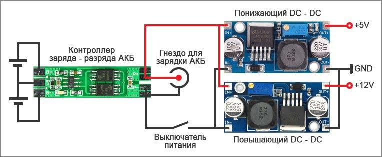 ШИМ контроллер на 12 вольт 18