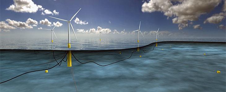 Ветряки Шотландии сгенерировали 106% необходимого электричества