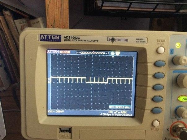 сигнал кадрової синхронізації стандарту PAL