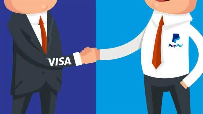 PayPal против Visa: История вражды и примирения