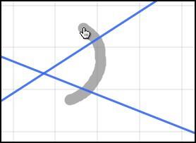 Gesture angle