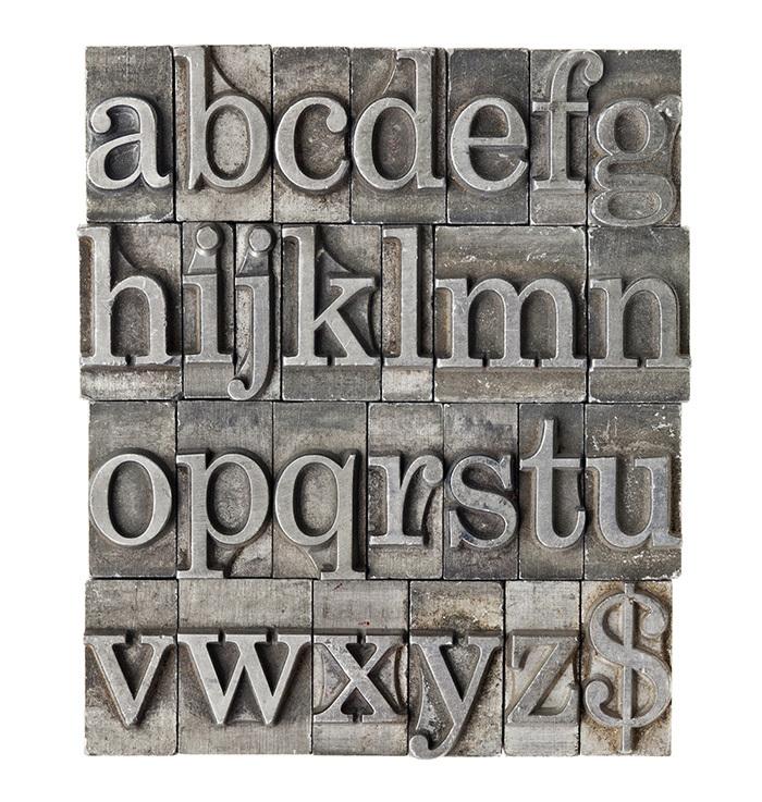 добірка книг по типографіці