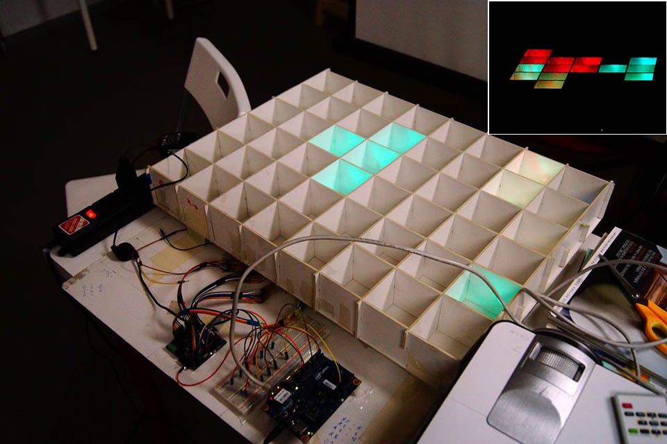 LED Panel Design on Intel Galileo Gen1