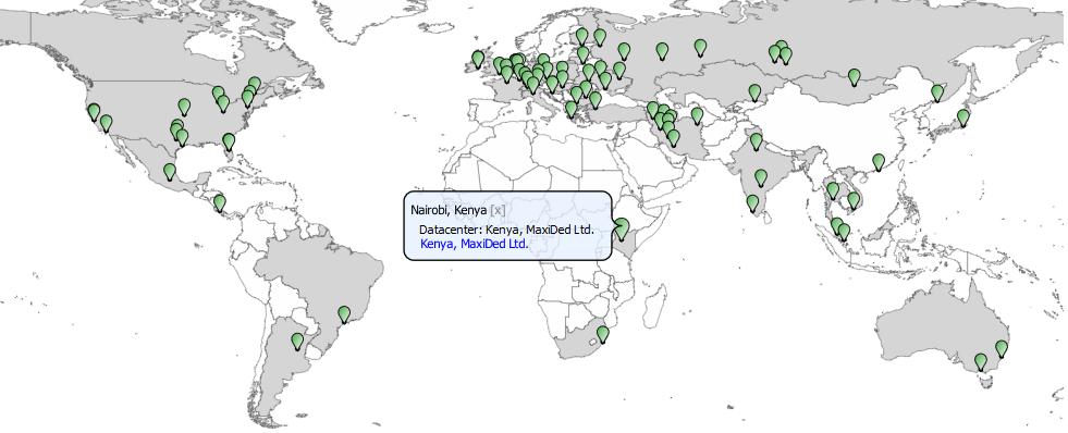 Распределенный мониторинг: очередное расширение сети сервиса ХостТрекер