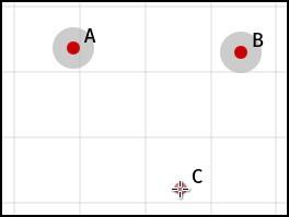 Three-point angle