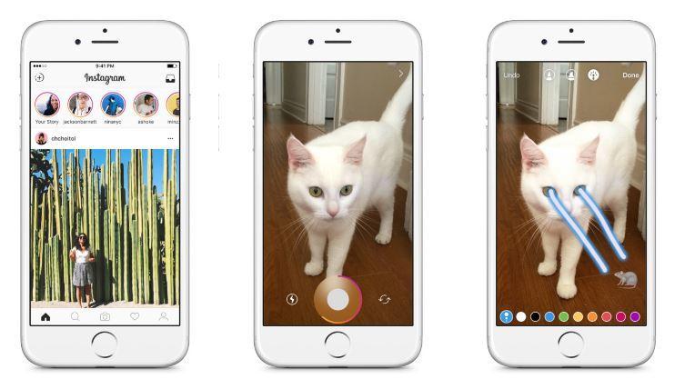 В Instagram можно будет публиковать сообщения, которые исчезают через 24 часа