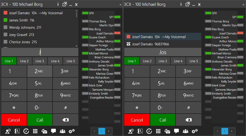 3CX Softphone обзавелся панелью BLF, импортом из Google и…