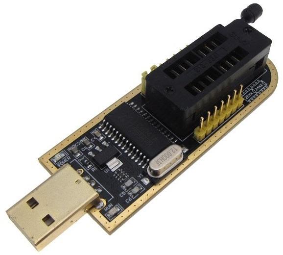 CH341A, USB-UART-конвертер и I2C/SPI-программатор за $5