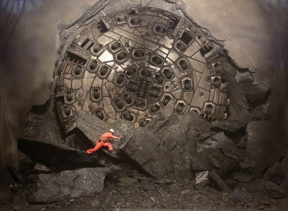 Самый длинный тоннель в мире для авто