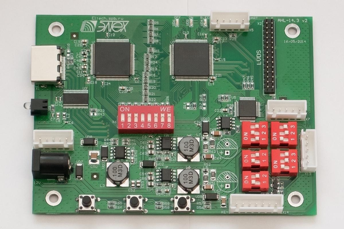 HDMI-LVDS. От макета к релизу