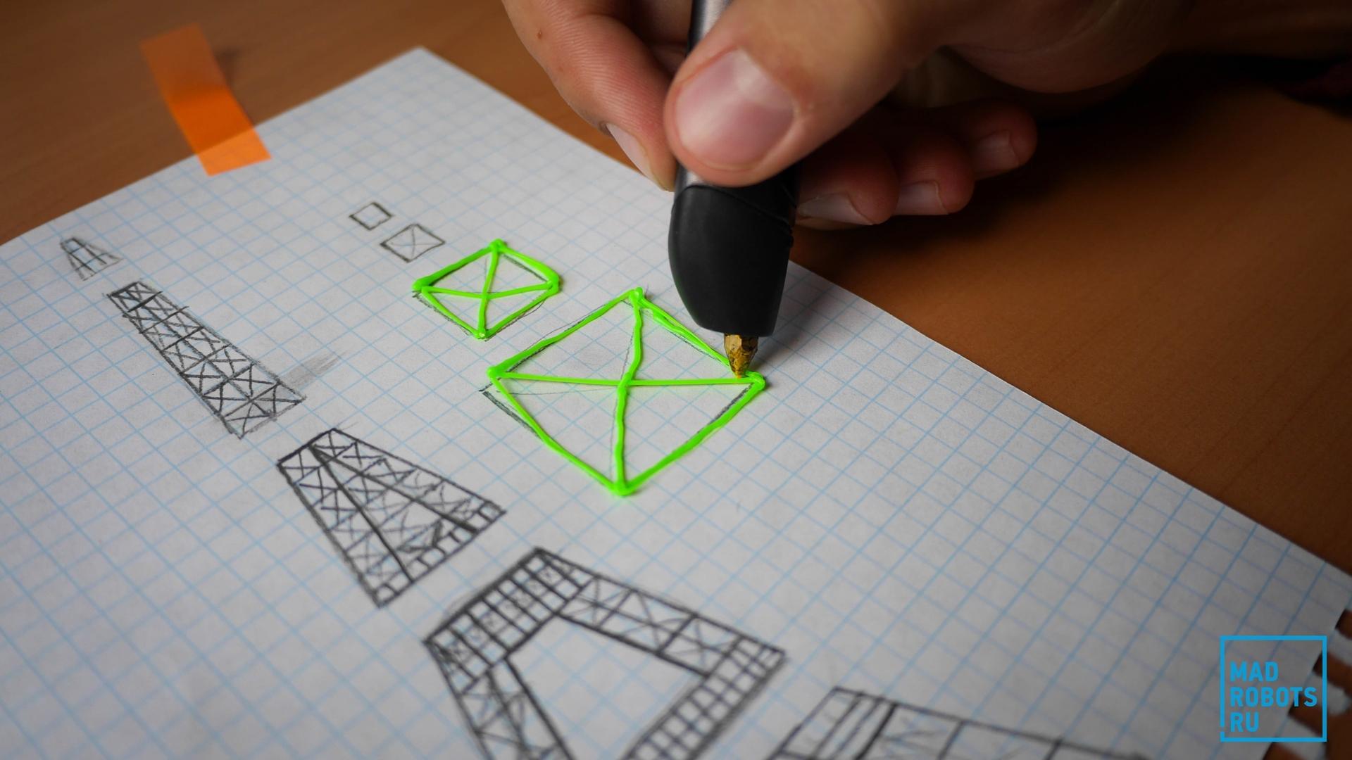 Дачнику, крутые рисунки 3д ручкой чертежи