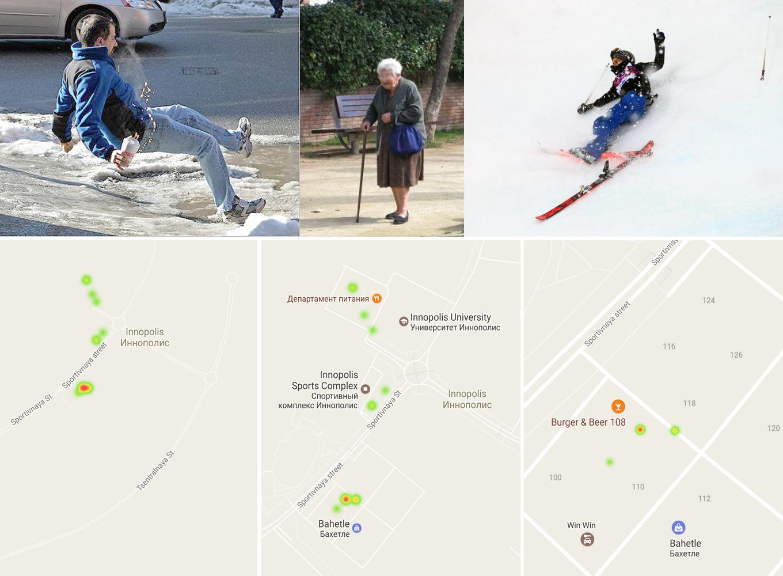 Система отслеживания степени заледенелости улиц: машинное обучение + Microsoft Azure + Android